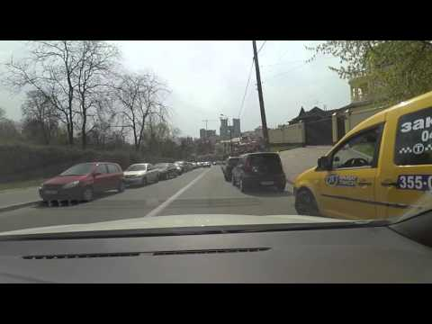 Driving in Kiev, Ukraine [25]