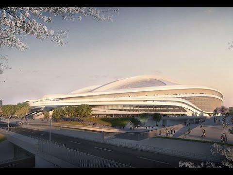Zaha Hadid presents fresh pitch for Tokyo Olympic Stadium