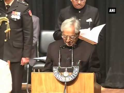 Mufti Mohammad Sayeed takes oath as JandK Chief Minister