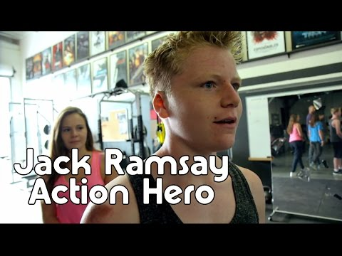 Jack Ramsay learns how to become an action hero!
