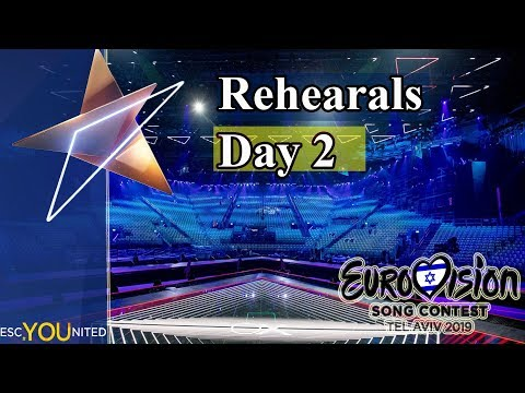 Eurovision 2019 Rehearsals - Day 2 Live Stream (From Press Center) HD