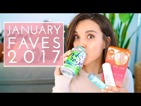 January Favorites 2017! | Ingrid Nilsen