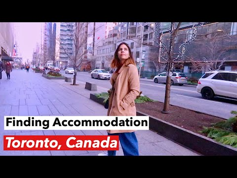 Day 2 -Toronto, Canada |New Immigrant | Looking For Accommodation, PRESTO Card, TTC Subway