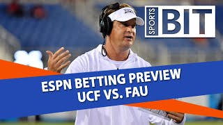 College Football Betting Preview: UCF vs. FAU | Sports BIT | September 19th