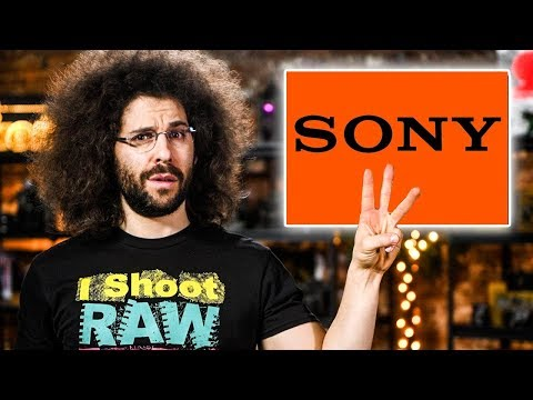 "SONY's 3 ""MAJOR"" Announcements?! CANON's Now #1"