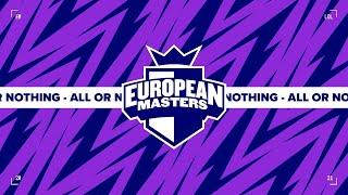 MSFP vs. FNCR - Semifinals | Game 1 | Amazon EU Masters Summer (2021)