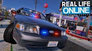 ALLEIN auf STREIFE! 😬 - GTA 5 Real Life Online