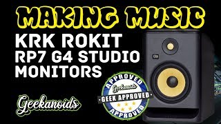 KRK ROKIT 7 G4 Studio Monitors Review