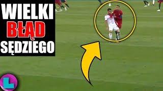 ŚWIĘTA KROWA! Cristiano Ronaldo uratowany przez SĘDZIEGO!