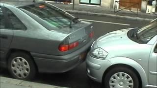 Жесткая парковка в Париже