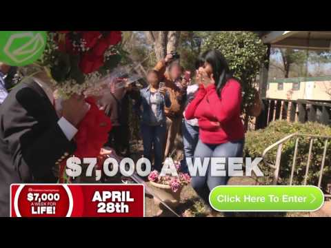 """Get """"Set For Life"""" with PCH's 7,000 A Week For Life!"""