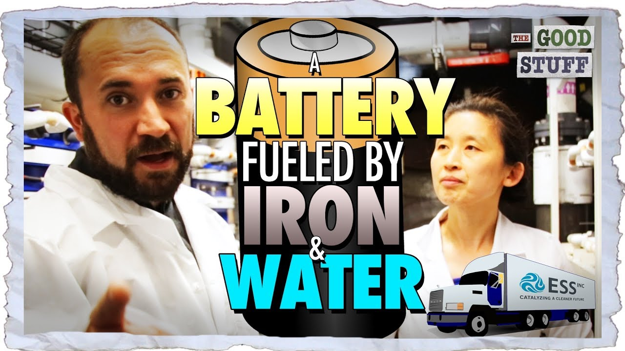 Battery Fueled by Iron and Water Could Transform the Power Grid