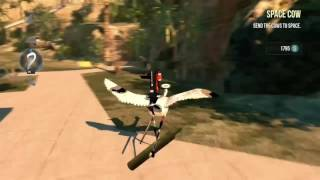 Goat Simulator - Make Cops Fly - Xbox One - Retirement Achievement- Payday Dlc
