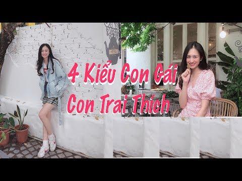 4 Kiểu Con Gái Mà Con Trai Thích | Trần Minh Phương Thảo