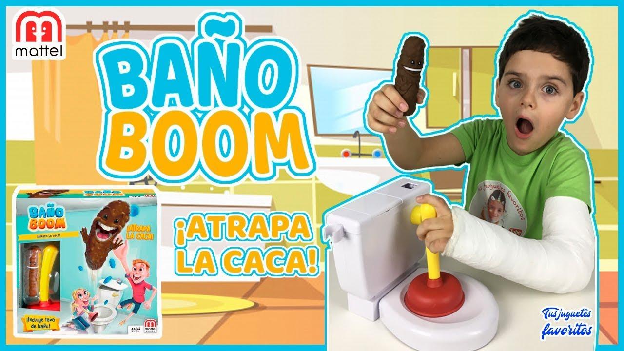 Bano Boom Atrapa La Caca El Juego De Mesa De Mattel Tus Juguetes