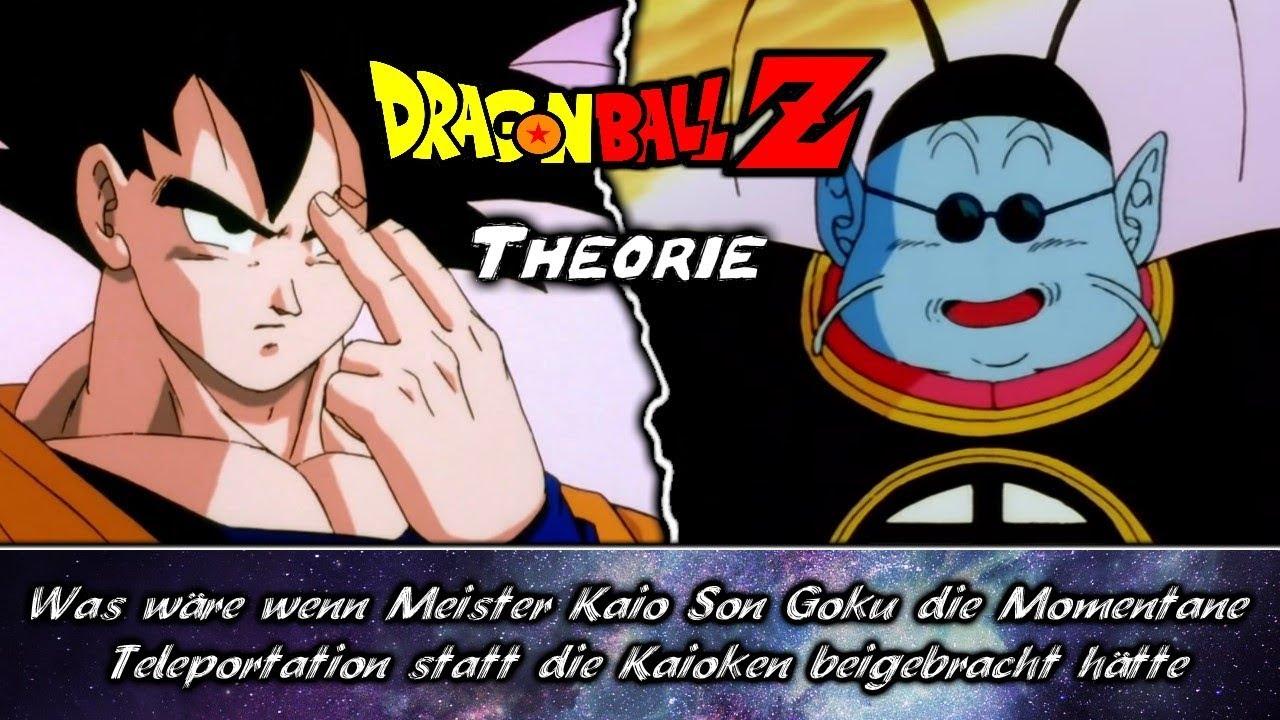 Www Kaio Son Goku Die Momentane Teleportation Statt Die Kaioken