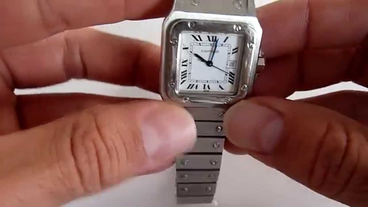Reloj Cartier Santos Galbee b6c8edc94bf35