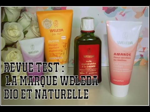 Revue test : Weleda, la marque bio & naturelle