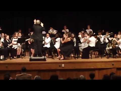 Harnett County All-County Band November 19, 2016 at Triton High School, Erwin, NC
