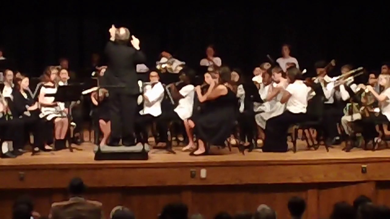 Harnett County All-County Band November 19, 2016 at Triton High School,  Erwin, NC - YouTube