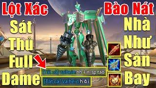 [Gcaothu] Omega lột xác thành Sát Thủ Full Dame một combo một mạng - Bào nát ba đường lính siêu cấp