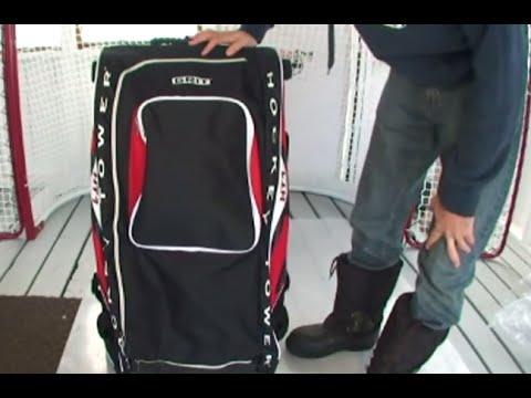 Grit Hockey Tower Bag Review Hockeyreviewhq Com Youtube
