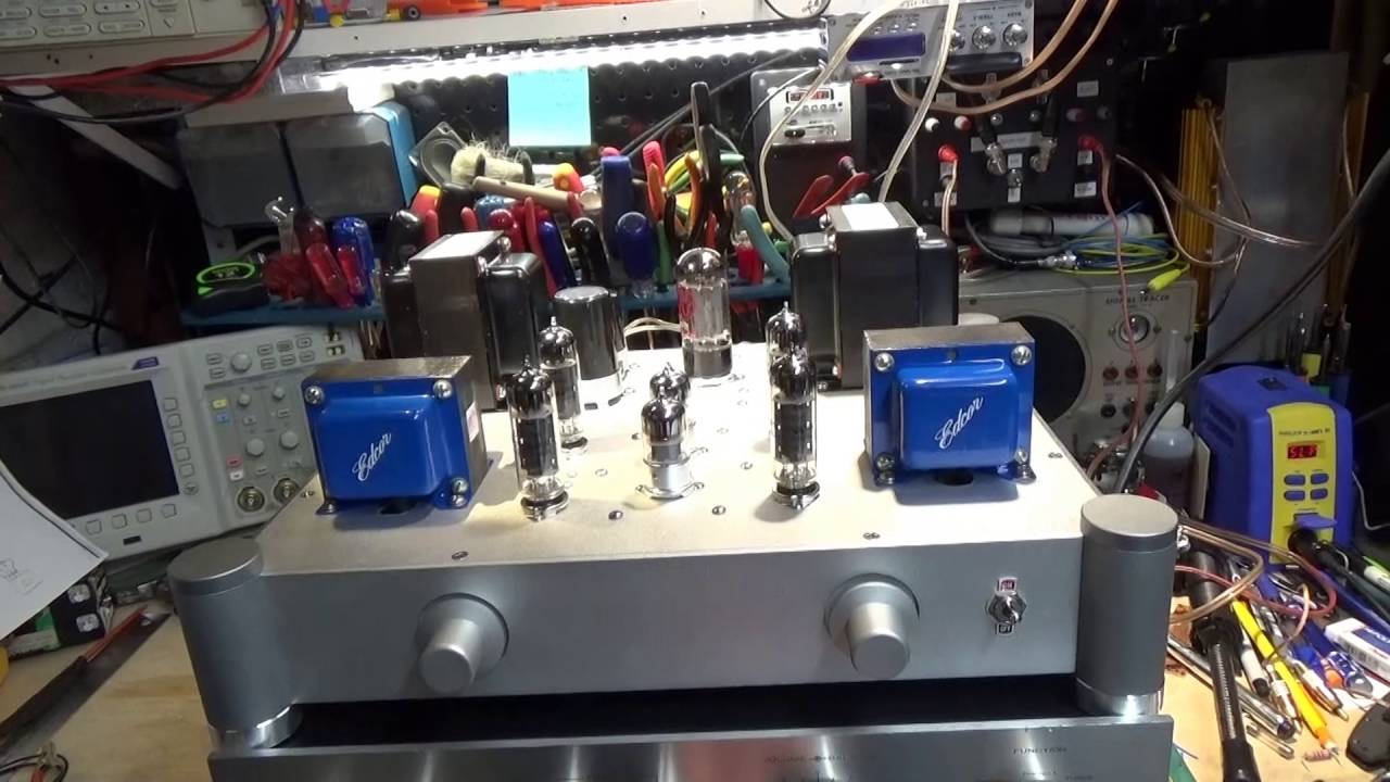 Scratch Build a Stereo Tube Amplifier-Part 8