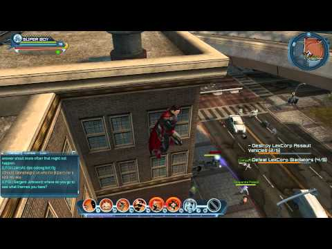 DC Universe Superboy Gameplay