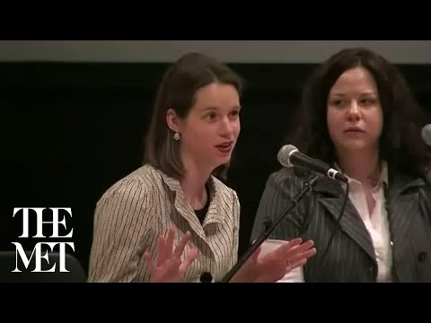 Question and Answer Session with Staff Members, Brooklyn Museum, Costume Documentation Project