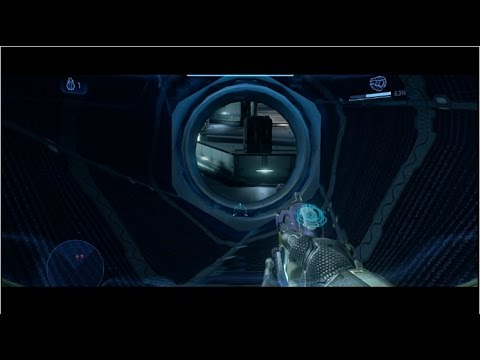 Halo 4 Trick/Glitch - Out Of Dawn From Mission Start