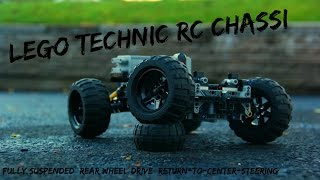 Lego RC fully suspended chassi / intructions