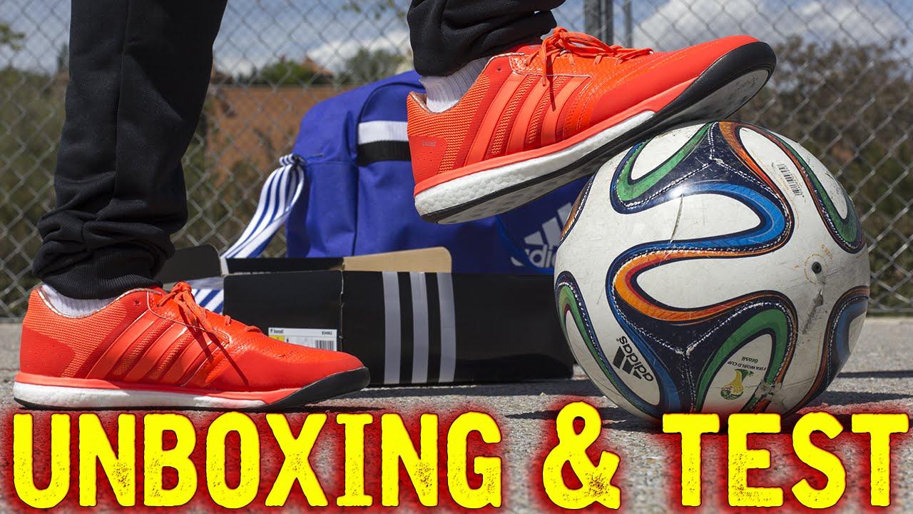 e197c69a7ff45 Botas de Fútbol Adidas FF Boost - Freestyle y Futsal - YouTube