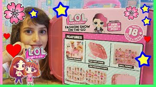 LOL SURPRISE FASHION ON THE GO: TORNA LA SERIE 1!!  DA NON PERDERE! by Barbara, Lara e LOLLINA