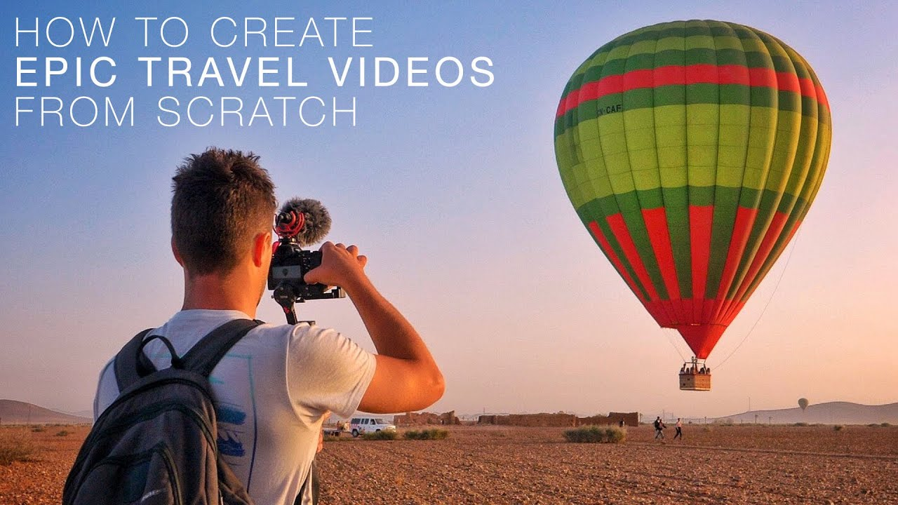 How To Create Epic Travel Videos From Scratch - ON SALE NOW!!!