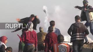State of Palestine: 15 Palestinians injured at Gaza 'March of Return' protest