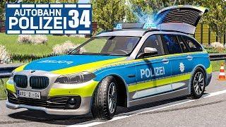 PKW fährt gegen Waschmaschine! AUTOBAHNPOLIZEI-SIMULATOR 2 #34 | Police Simulator 2 deutsch