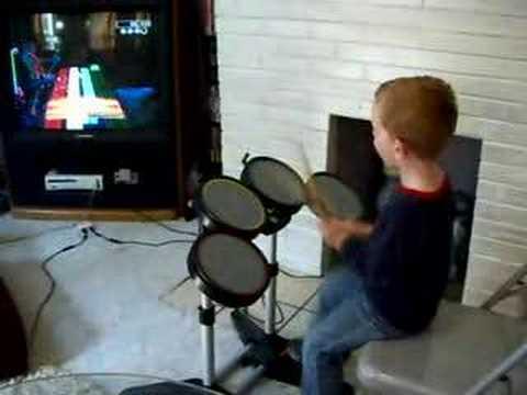 Metallica Enter SandMan Rock Band Drums Hard 5 Star 5 yr old