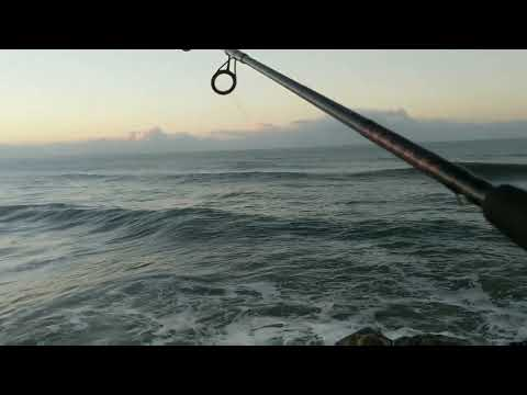 Shore Fishing Before Work / Santa Cruz California