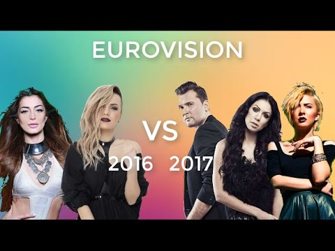 Eurovision 2016 vs Eurovision 2017 (Based on my personal opinion)