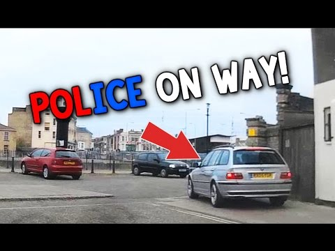 Chasing 17 Year Old Driving Without Licence (Till Police Turn Up)
