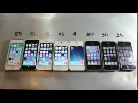 Comparison Between All IPhones