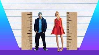 How Much Taller? - Eminem vs Elle Fanning!