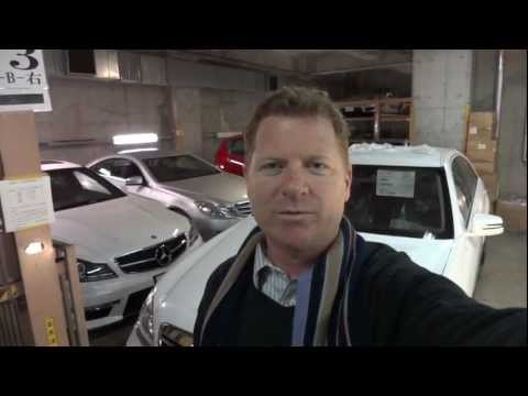 New Mercedes Benz S550 - Tokyo Japan car sales Mick Lay lease