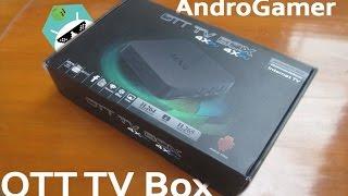 OTT TV Box | Android Tv Box | Review en español