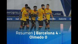 Resumen: Barcelona 4 - olmedo 0
