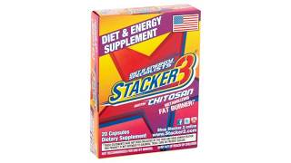 Diet and Energy Specialists Stacker3 with Chitosan Metabolizing Fat Burner Supplement Review