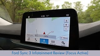 Ford Sync 3 Infotainment Review