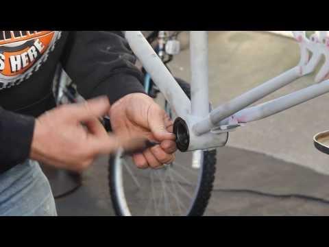 American Bottom Bracket - Crank Conversion - Part 2 - BikemanforU Repair