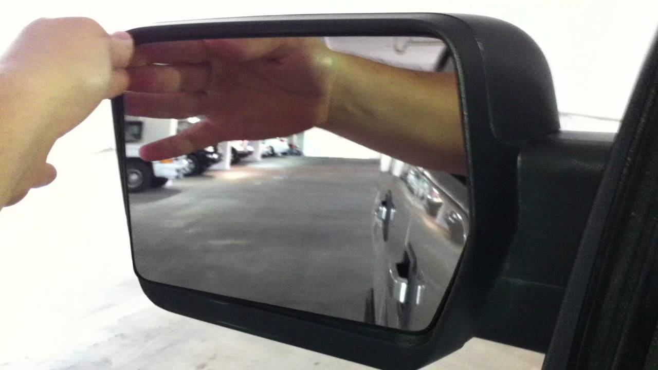 2009 Ford F150 Side Mirror Issue Youtube