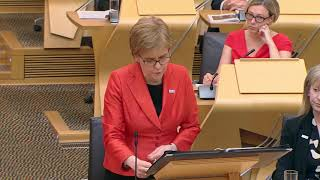 First Minister's Questions - 21 June 2018